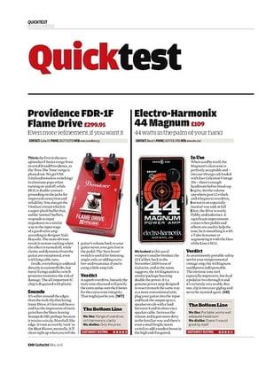 Guitarist Electro-Harmonix 44 Magnum