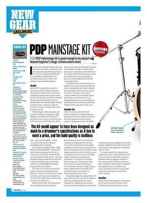 Rhythm PDP Mainstage Kit