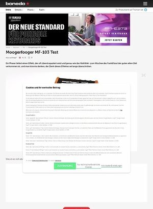 Bonedo.de Moogerfooger MF-103