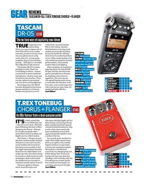 Total Guitar Tascam DR-05