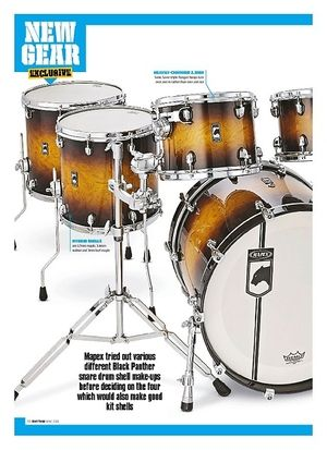 Rhythm Mapex Black Panther Velvetone Kit