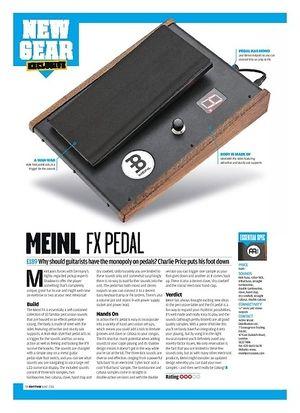 Rhythm Meinl FX Pedal