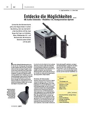 Keyboards HK Audio Elements – flexibles P.A.-Komponenten-System
