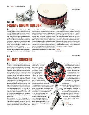 Sticks LP Hi-Hat Shekere