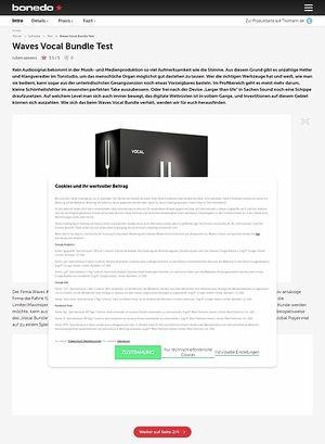 Bonedo.de Waves Vocal Bundle