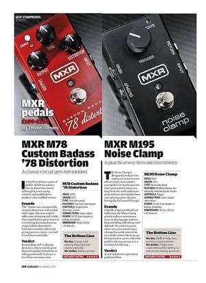 Guitarist MXR M195 Noise Clamp