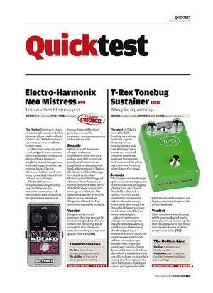 Guitarist Electro-Harmonix Neo Mistress
