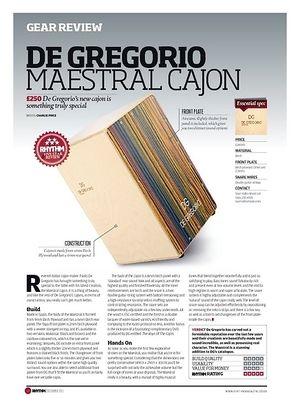 Rhythm DE GREGORIO MAESTRAL CAJON