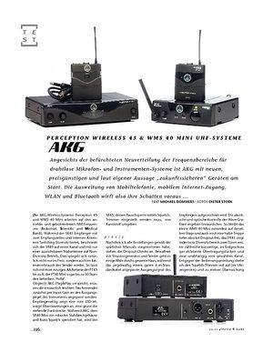 Gitarre & Bass AKG Perception Wireless 45 & WMS 40 Mini UHF-Systeme