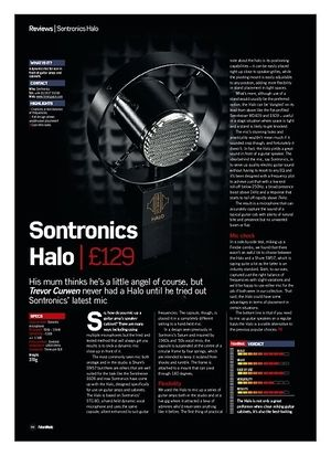 Future Music Sontronics Halo