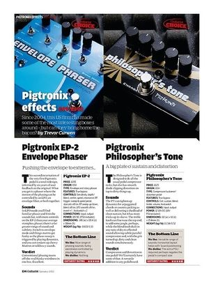 Guitarist Pigtronix EP-2 Envelope Phaser