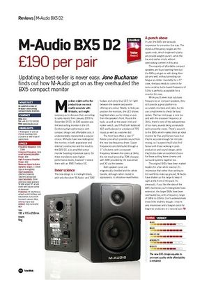 Future Music M-Audio BX5 D2