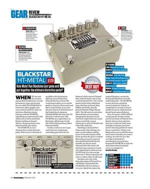 Total Guitar BLACKSTAR HT-METAL