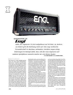 Gitarre & Bass Engl Gigmaster 30