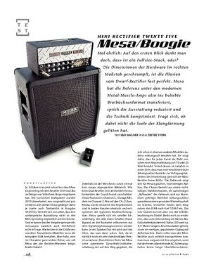 Gitarre & Bass Mesa/Boogie Mini Rectifier Twenty Five, Mini-Stack