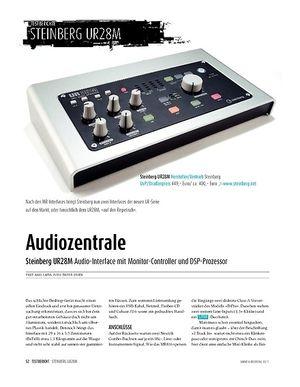 Sound & Recording Steinberg UR 28 M: Audiointerface, Controller, DSP
