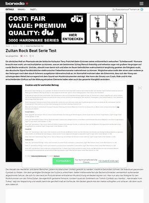 Bonedo.de Zultan Rock Beat Serie