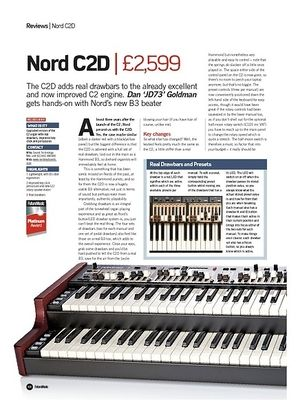 Future Music Nord C2D