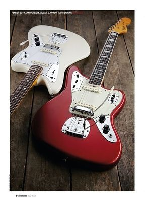 Guitarist Fender Johnny Marr Jaguar
