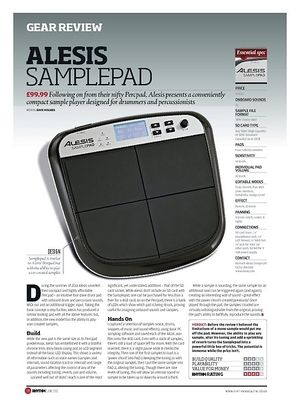 alesis samplepad percussion multi pad thomann ireland