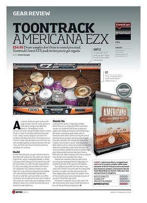 Rhythm TOONTRACK AMERICANA EZX