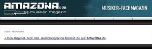 Amazona.de News: Der neue KORG TM-50 ist da!