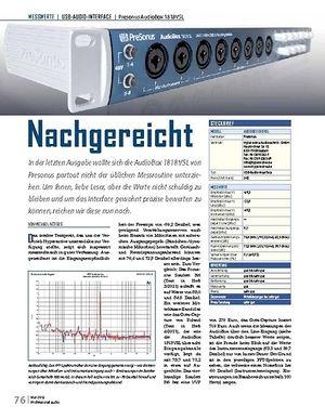 Professional Audio Presonus AudioBox 1818VSL Nachgereicht