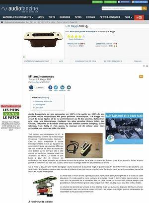 Audiofanzine.com L.R. Baggs M80