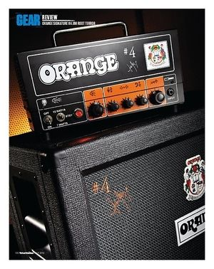 Total Guitar ORANGE SIGNATURE #4 JIM ROOT TERROR