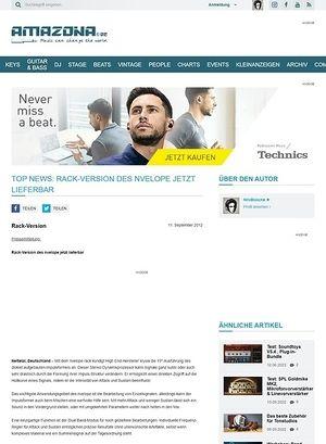 Amazona.de Top News: Rack-Version des nvelope jetzt lieferbar