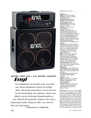 Gitarre & Bass Engl Retro Tube 100 & 412 Retro Cabinet, Tube-Stack