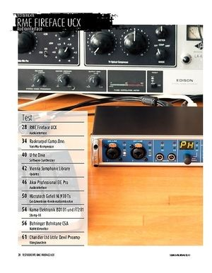 Sound & Recording RME Fireface UCX: Audiointerface