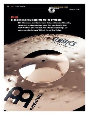 Sticks Meinl Classics Custom Extreme Metal Cymbals