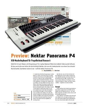 Keyboards Preview: Nektar Panorama P4