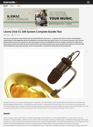 Bonedo.de t.bone Ovid System Complete Bundle