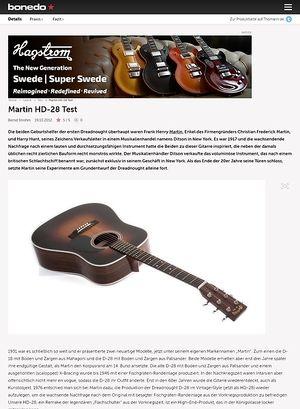 Bonedo.de Martin HD-28