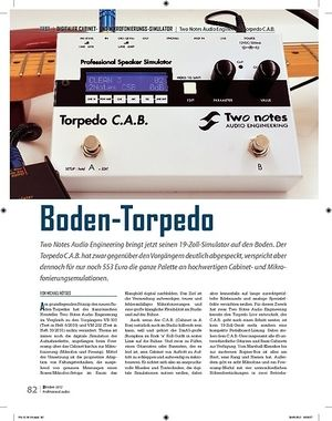 Professional Audio Two Notes Audio Engineering Torpedo C.A.B.