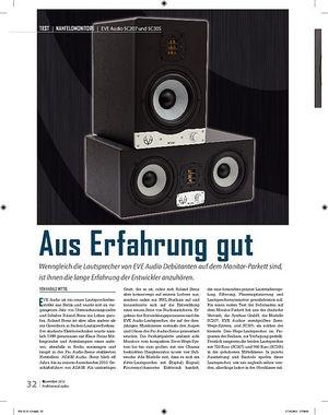 Professional Audio EVE Audio SC207 und SC305