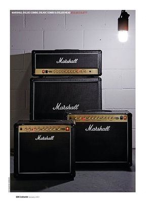 Guitarist Marshall DSL40C