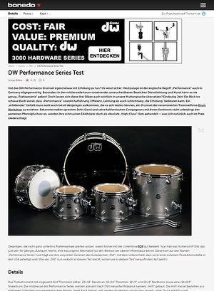 Bonedo.de DW Performance Series Test