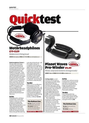 Guitarist Planet Waves Pro-Winder