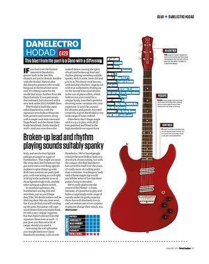 Total Guitar DANELECTRO HODAD