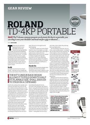 Rhythm ROLAND TD-4KP PORTABLE