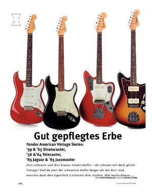 Gitarre & Bass Fender American Vintage Series!