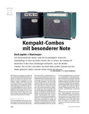 Gitarre & Bass Koch Jupiter + Startrooper, Gitarren-Combos
