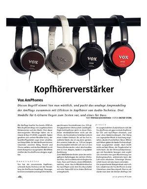 Gitarre & Bass Vox AmPhones, Kopfhörerverstärker