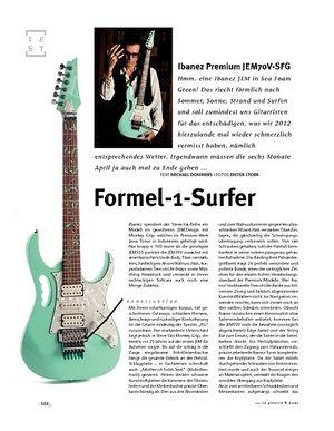 Gitarre & Bass Ibanez Premium JEM70V-SFG, E-Gitarre