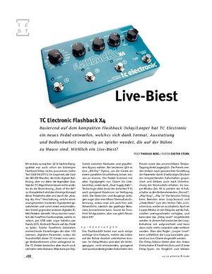 Gitarre & Bass TC Electronic FlashbackX4 Delay/Looper, Delay-Pedal