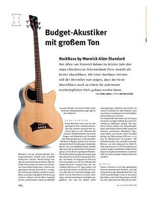 Gitarre & Bass RockBass by Warwick Alien Standard, Akustik-Bass