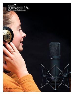 Sound & Recording Neumann U 87A − Großmembran-Kondensatormikrofon